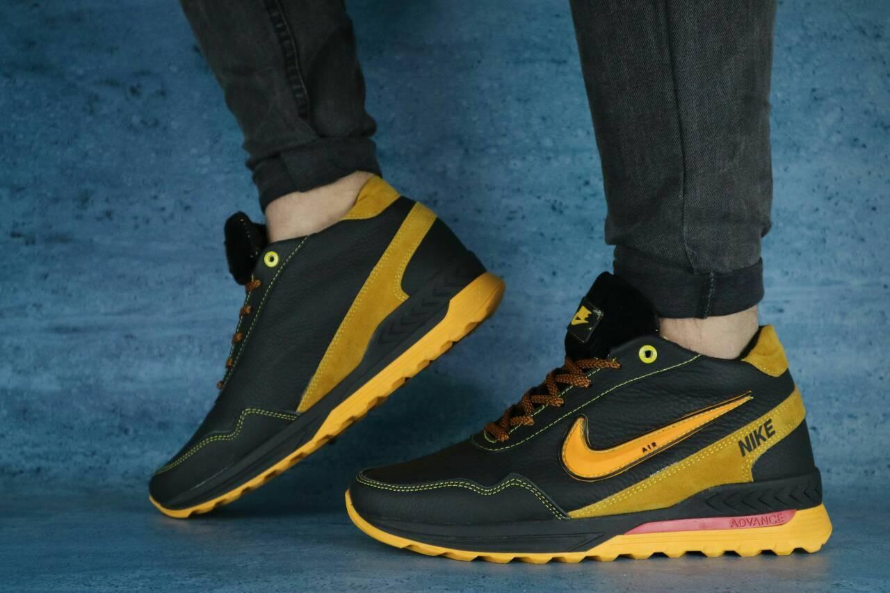 4a9667112c69 Мужские кожаные зимние ботинки Nike! Размеры  40-45 реплика - Интернет  магазин Берцы
