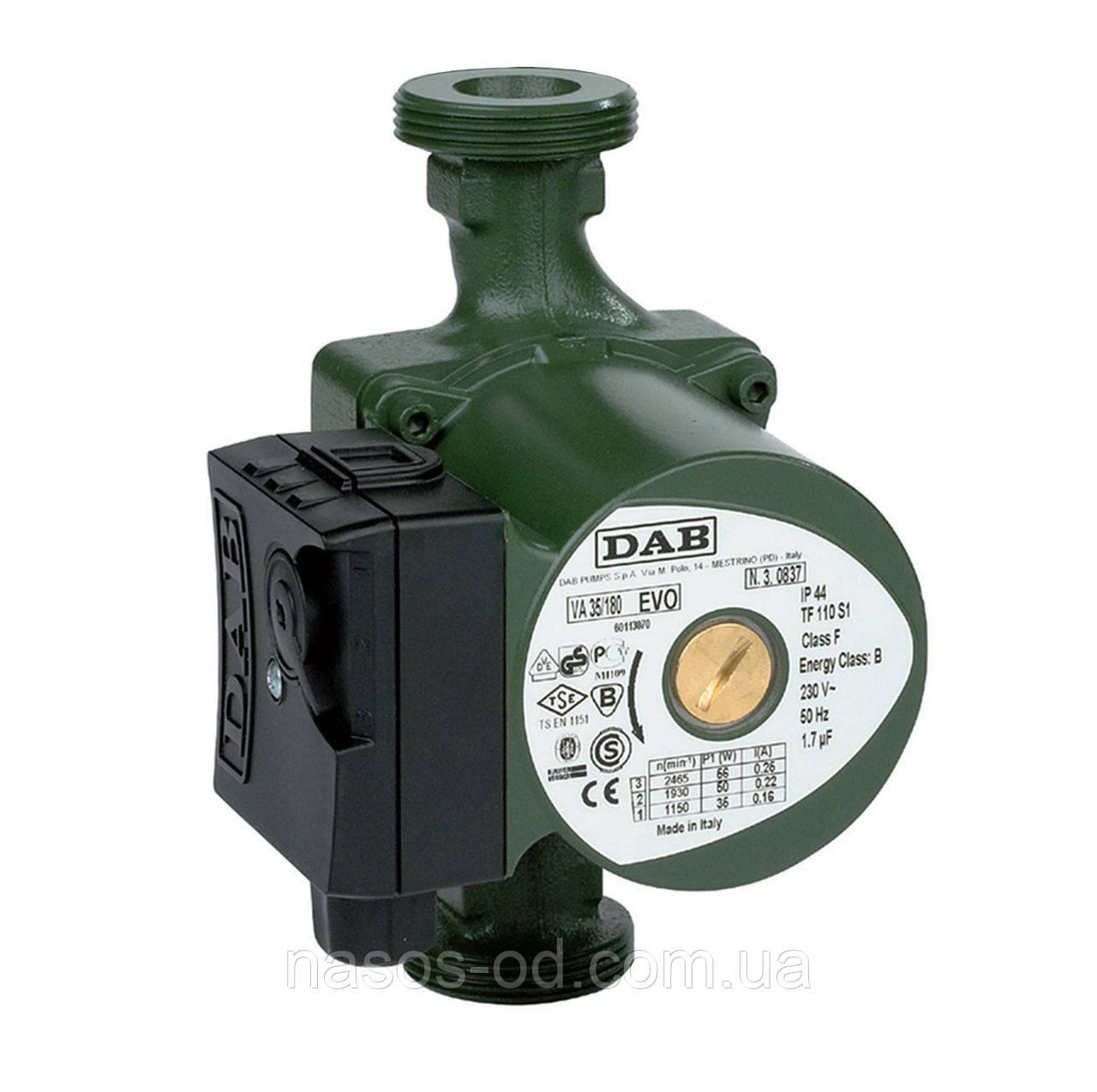 Циркуляционный насос DAB для системы отопления 6 55/180 (874106)