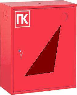 Шкаф пожарный ШПК-310 ВО встроенный без задней стенки 600х600х230мм, Евросервис (000015119)