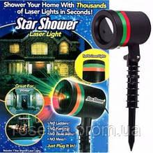 Лазерный звездный проектор Star Shower Laser Light (Стар Шовер Лазер), мини-лазерная установка