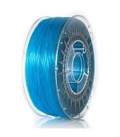 ABS+ 1.75 мм Пластик Для 3D Печати Devil Design Голубой Прозрачный (Польша)
