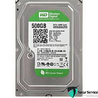 Жесткий диск для компьютеров Western Digital 500GB 64MB 5400RPM (WD5000AZRX) SATA III