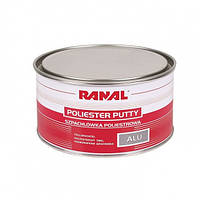 Шпатлевка Ranal ALU с алюминиевым порошком 1,7кг