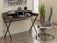 Стол письменный в стиле лофт с полками Лофт L-10 Loft Design