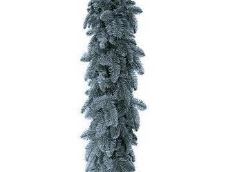 Голубая хвойная гирлянда (ель) 300х23 см