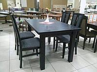 Стол обеденный КЛАССИК 140(+50) венге