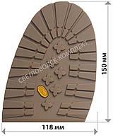 Подметка резиновая BISSELL, art.RB 518S, цв. светло-коричневый (карамель)