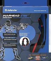 Игровая компьютерная гарнитура Defender Warhead G-185 чёрно-красный