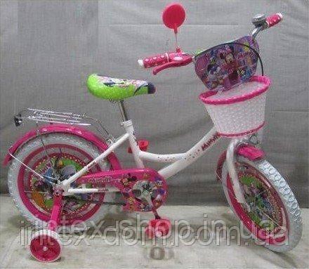 Велосипед детский микки 16 д MI166W