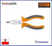 Плоскогубцы удлиненные изогнутые NEO 01-015