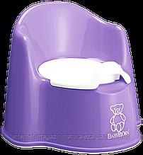 Горшок для детей BabyBjorn фиолетовый