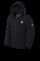 Мужская черная зимняя куртка KIRO TOKAO (р. 48-56) арт. 1706 М