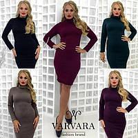 Женское модное платье - гольф  ангора,   ( Турция ),