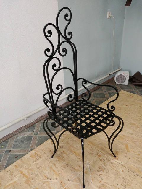 Кованый стул ручной работы 1