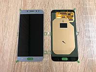 Дисплей Samsung J7 (2017) J730 Серый Silver GH97-20736B оригинал!