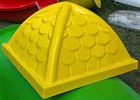 Крыша стеклопластиковая для игрового комплекса 130 см * 130 см