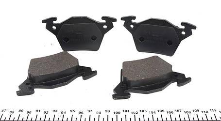 Колодки тормозные задние MB Vito 638CDI (Bosch), фото 2