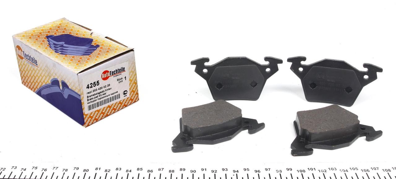 Колодки тормозные задние MB Vito 638CDI (Bosch)