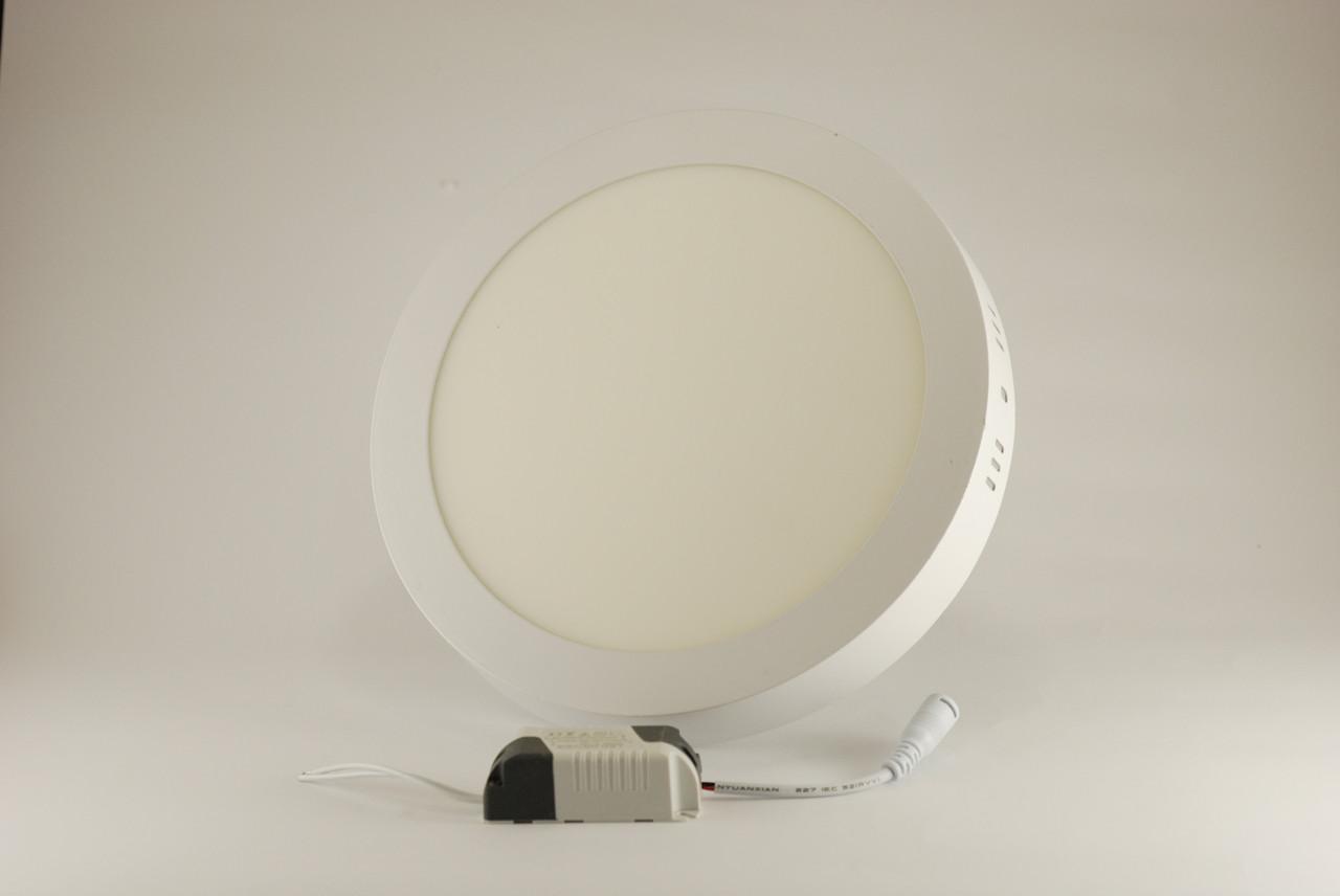 Светодиодный светильник ECOLUX LPC225E-20 круглый 20W