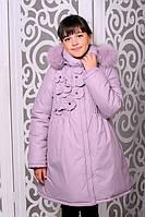 Красивая куртка, пальто зима для девочки  38, 40 размер.Детская верхняя зимняя одежда!