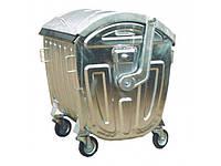 Контейнер для мусора оцинкованный 1100 литров