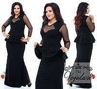 Женское платье в пол Vero (разные цвета) 48-54р.