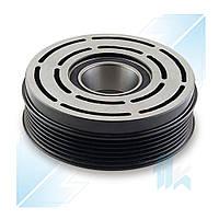 Шкив компрессора, DENSO 10P15C, 6PK (PV6), 121,00/125,00 мм, Mercedes-Benz