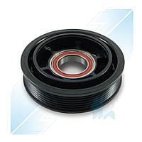 Шкив компрессора, DENSO 5SEL12C, 6PK (PV6), 119,00/124,00 мм, Peugeot