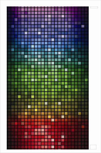 Настенный инфракрасный обогреватель «Мозаика» 400 Вт