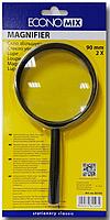 """Увеличительное стекло """"Economix"""" 90 мм."""