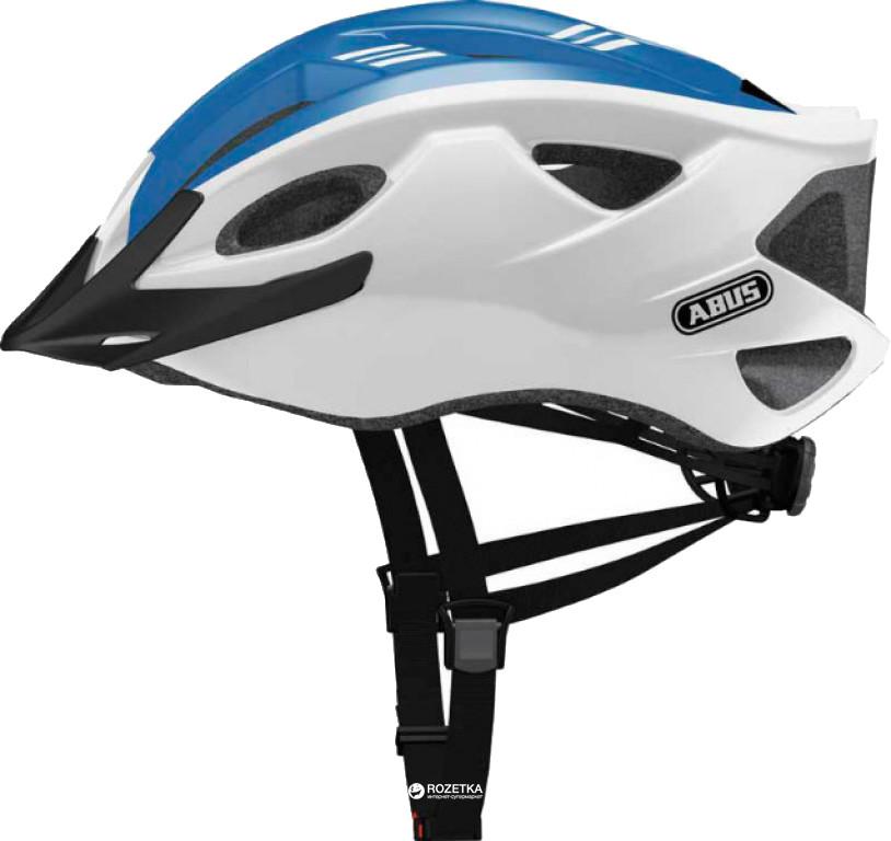 Велошлем  ABUS S-CENSION Race Blue (L)