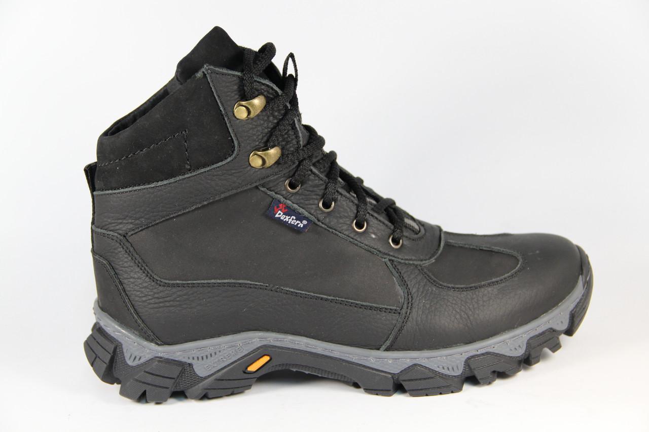 Мужские ботинки из натуральной кожи DF41