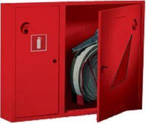 Шкаф пожарный ШПК-315 НО навесной с задней стенкой 700х900х230мм Евросервис (000015821)