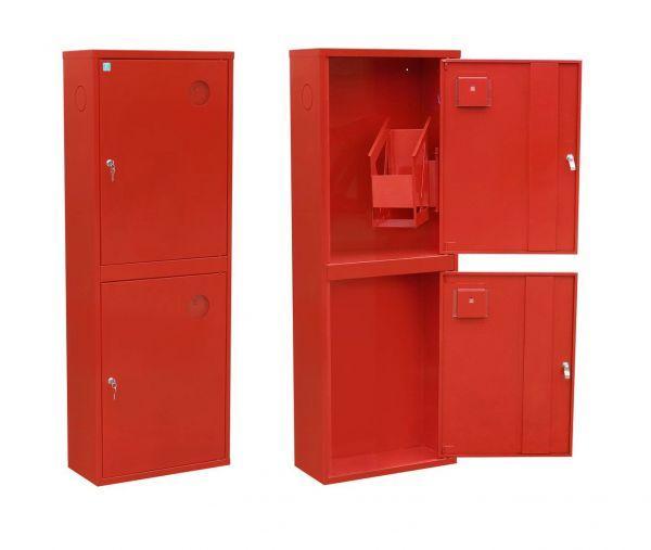 Шкаф пожарный ШПК-315 НО навесной без задней стенки белый 1200х600х230мм