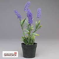Искусственный цветок (31 см, пластик)