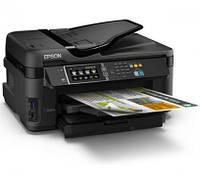 МФУ офисный  Epson Wi-FI  Work Forse Pro WF-7610DWF с СНПЧ с полным функционалом для фотопечати