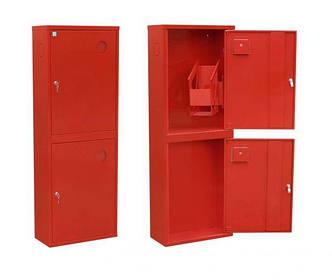 Шкаф пожарный ШПК-321 НО навесной с задней стенкой 1200х600х230мм