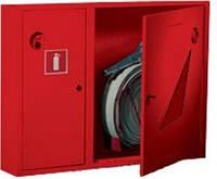 Шкаф пожарный ШПК-315 ВО встроенный  без задней стенки под 1 рукав и 1 огнетушитель 600х800х230 мм