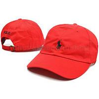 Кепка бейсболка Polo Ralph Lauren красная