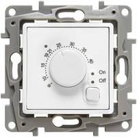 Термостат с датчиком для теплого пола, белый - Legrand Etika (Код: 672230)