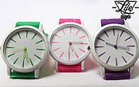 Наручные женские часы Geneva! Есть разные цвета!