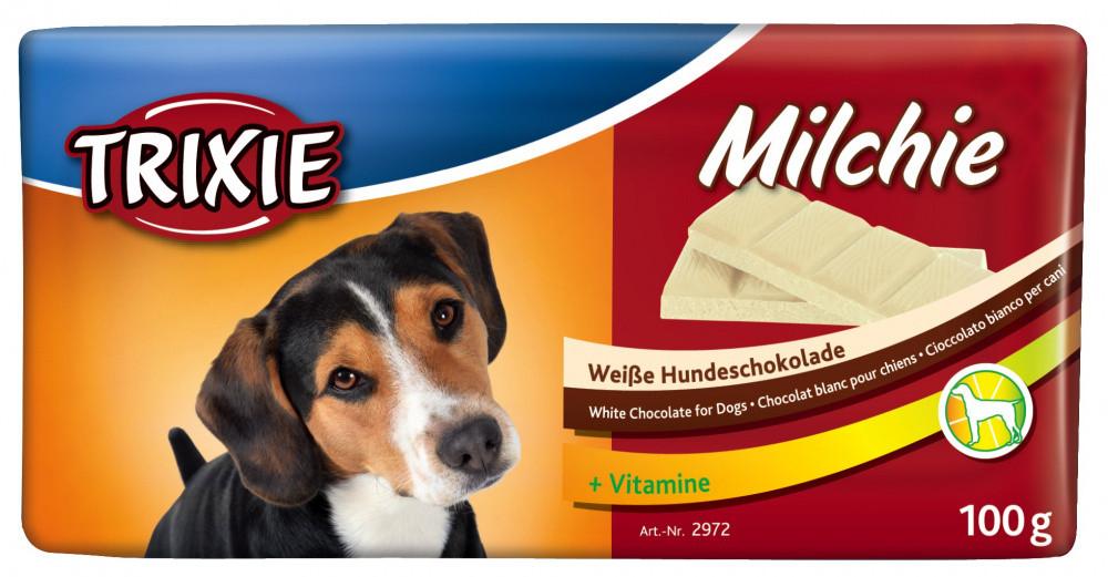 Молочный шоколад для собак с витаминами