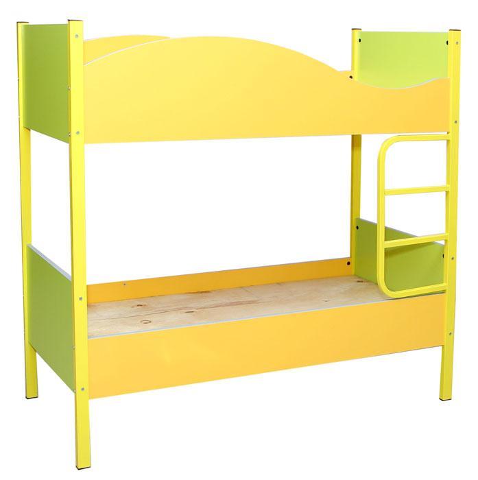 Кровать детская двухъярусная без матрацов 1458*650*1408h