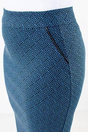 Юбка Илона синяя, фото 2