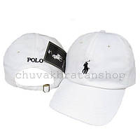 Кепка бейсболка Polo Ralph Lauren белая