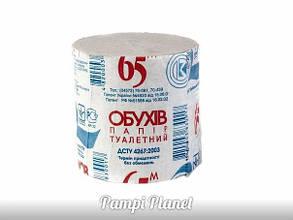 Туалетний папір 65м Обухів