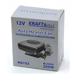 Автомобильный обогреватель 12V KD722, фото 2