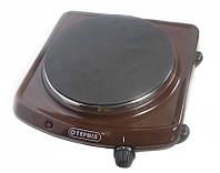 Электроплита коричневого цвета Термія ЕПЧ 1-1,5*220