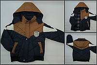 Куртка демисезонная на мальчика (5-6)лет