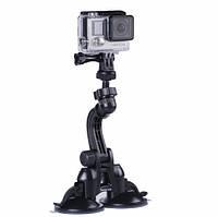 Автомобильное крепление на присоске для GoPro,Xiaomi и других экшн камер